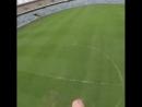 Прыжок на стадионе