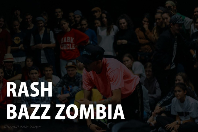 RASH Vs. BAZZ ZOMBIA | HIP-HOP PRO FINAL | TOP8 Styles Connection