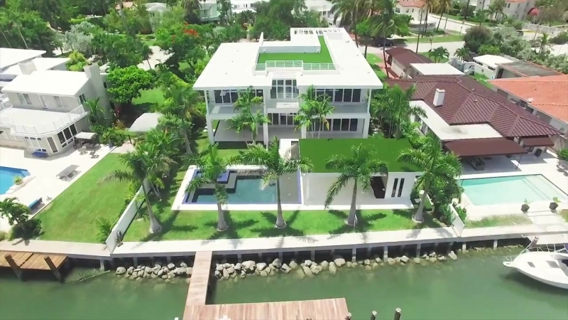 Contemporary Mansion in Miami Beach, Florida _ Sothebys International Realty