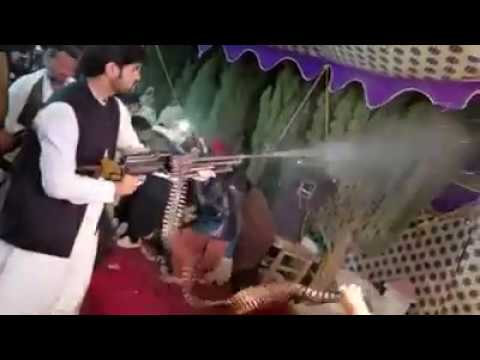Firing with Minimi Gun in Khan Wedding | Daniyal Ali