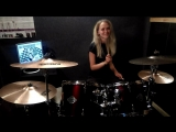 H-BlockX - The Power (drumcover by Elizabeth)