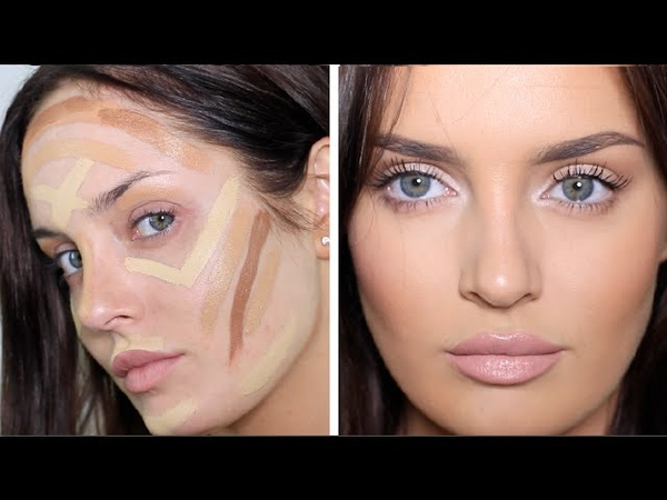 Updated ContouringHighlight Routine Very Full Coverage Makeup!
