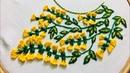 Hand embroidery neckline design by nakshi design art
