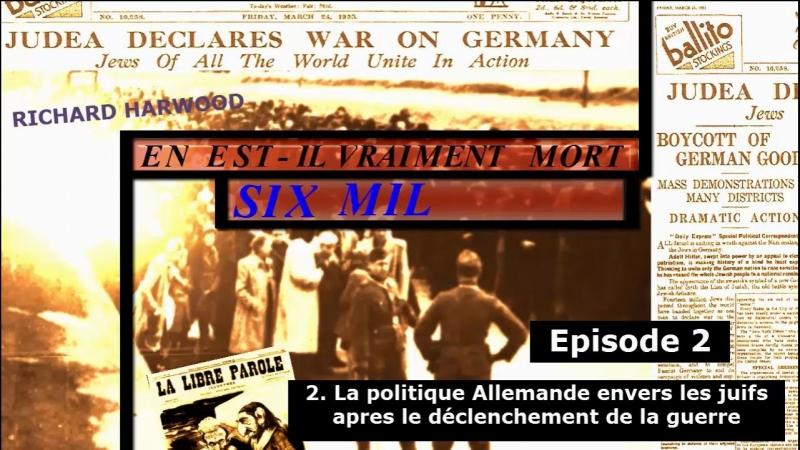 La politique allemande envers les juifs après le déclenchement de la guerre