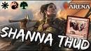 Shanna THUD [MTG Arena] | Naya Token Deck in M19 Standard