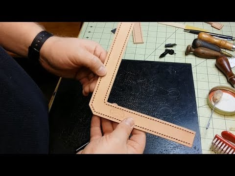 Let's Make Leather Flip Flops! Part 3 - Thong Straps