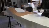 Bau eines Holzkajaks. Lektion 18 Das Deck laminieren
