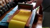 Изготовление вощины из натурального воска в домашних условиях при помощи матрицы Make a wax yourself