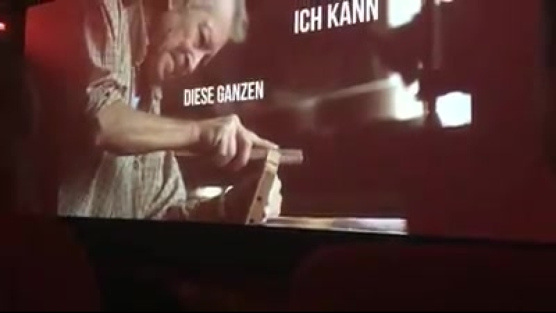 Ein Kumpel aus Dresden war gestern im Kino...
