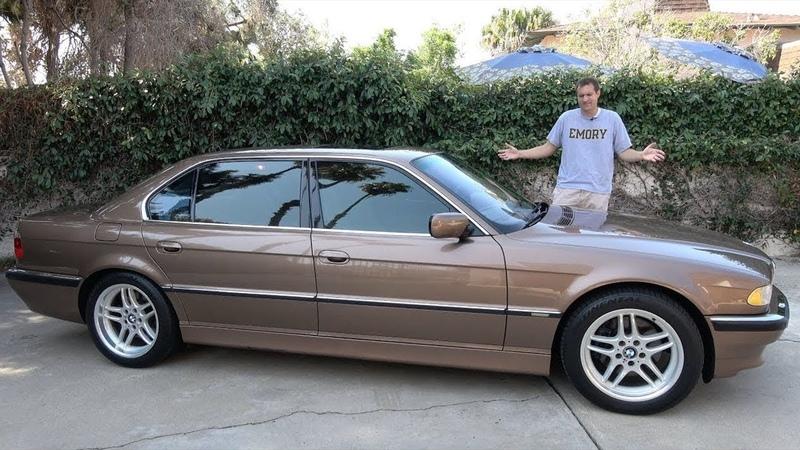 BMW 7 серии 2001 года
