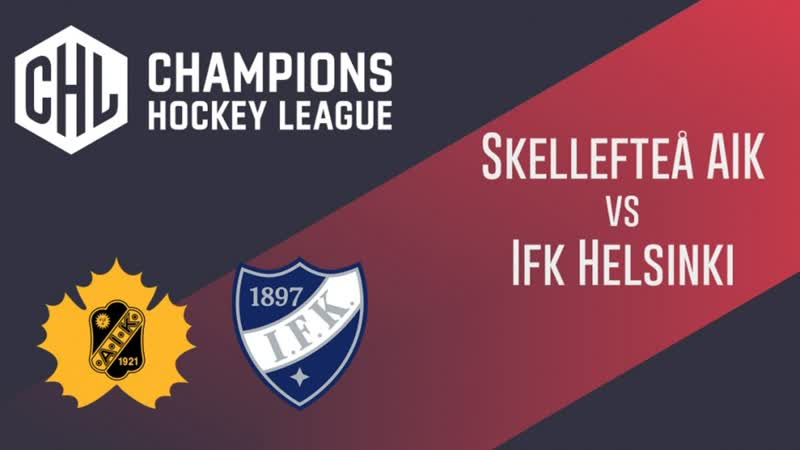 Highlights Skellefteå AIK vs IFK Helsinki