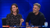 Dave Annable &amp Odette Annable on New Holiday Movie No Sleep till Christmas