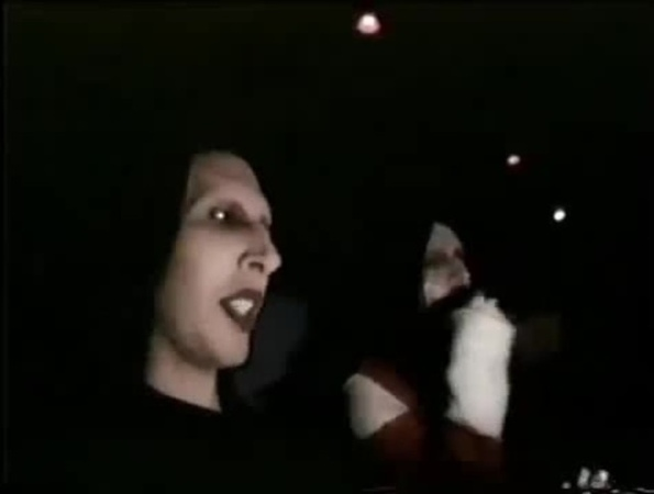 Marilyn Manson And Twiggy Ramirez Go To The Movies
