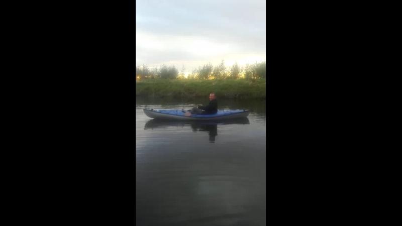 Рыбалка на каяке