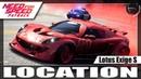 Need for Speed Payback Carro Abandonado Lotus Exige S Valentines Day Localização