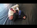 Контроль в борьбе — Валентина Мирон бразильское джиу-джитсу и Андрей Шидловский дзюдо, самбо