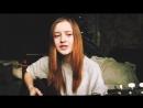 Девушка красиво поет на стихи Есенина Заметался пожар голубой
