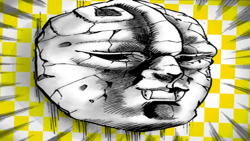 Jotaro Vs. Masked Dididio