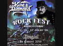 King Diamond - A Mansion in Darkness (Rock Fest Barcelona 2016)