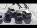Психанул и разбил машину