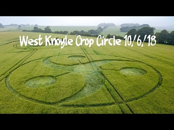 Crop Circle at Keysley Down, West Knoyle - Reported 10/6/2018