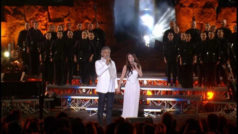 Andrea Bocelli Sarah Brightman- Con te partiro / Time to say goodbye * HD * (live)