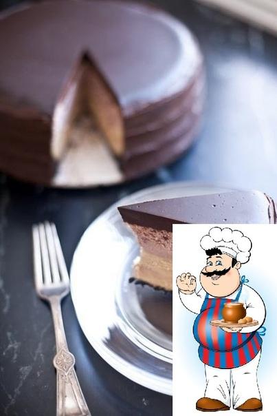 двухслойный чизкейк в шоколадной глазури ингредиенты: для основы: шоколадное печенье 0,5 кг сливочное масло (растопленное) 3 ст. л. сахар 2 ст. л. соль 2-3 г для начинки: сливочный сыр