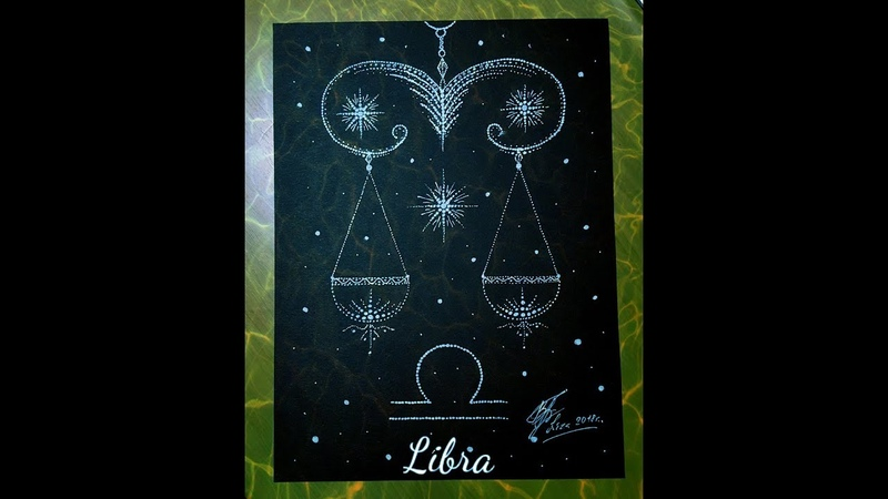 Libra | Speed drawing | Art | Zodiac sign