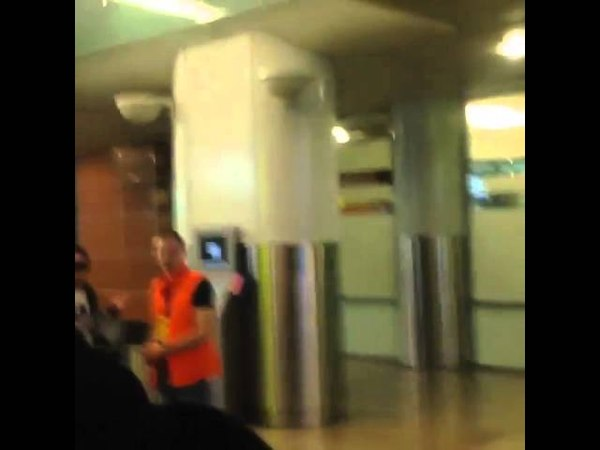 Adam arriving in Moscow, April 17, Video 5