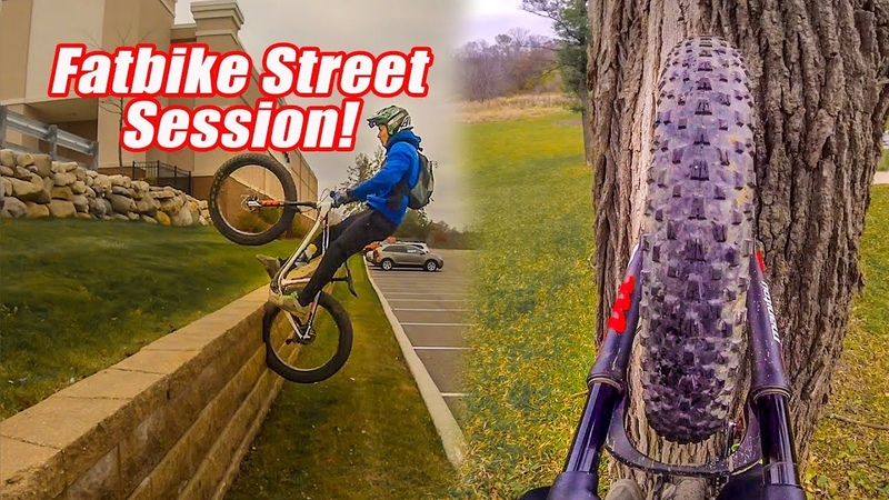 Fatbike Street Session! From the Skatepark to the Trees with Hannah on the Fatback Skookum