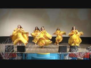 Цыганский танец, конкурсная группа, юниоры