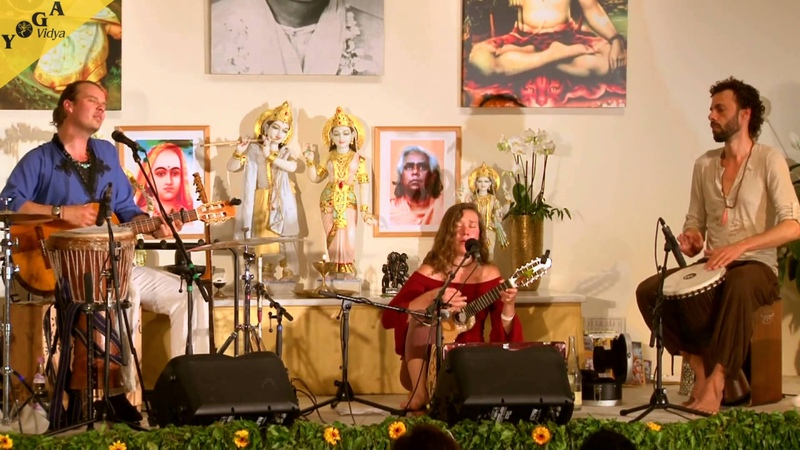Peia and Manouz Sacred Chant - feat. Pascal - live in concert at the Yoga Vidya Musikfestival 2015
