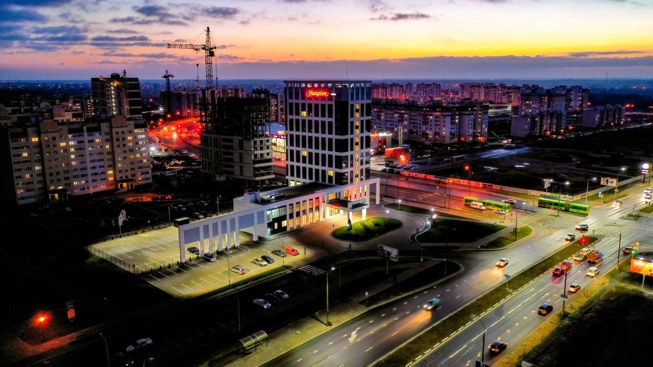 Отель Hampton by Hilton откроется в Бресте 12 декабря, смотрите, как он сейчас выглядит