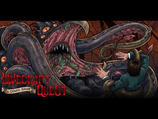 Lovecraft Quest - a comix game inspired by the works of H.P. Lovecraft
