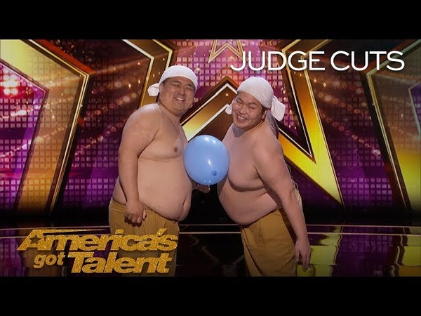 Yumbo Dump: Shirtless Duo Creates Hilarious Sounds With Bellies - America's Got Talent 2018