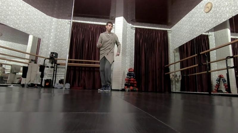 House dance practice Maks Nikolyuk