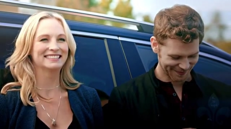 Again? Really? I hope ...and... I'm so happy! Caroline Forbes and Klaus Michaelson!