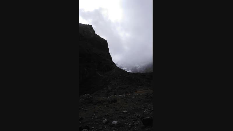 Бадринатх. Гималаи. По дороге к пику Нилакантх.