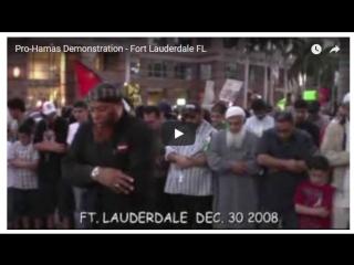Pro-Hamas Demonstration - Fort Lauderdale FL