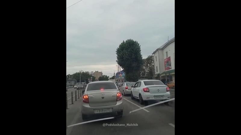 Весёлый светофор в Нальчике))
