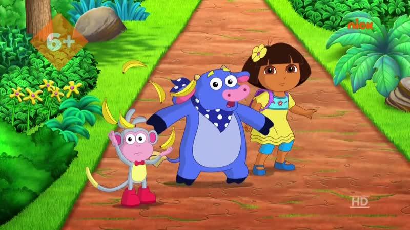 Nickelodeon HD Даша-путешественница 13.01.2019 Года