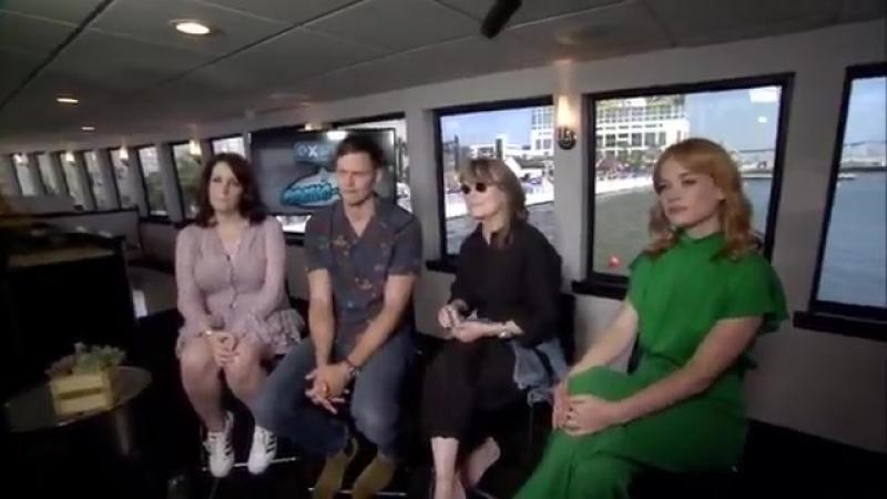 Comic Con 2018 Интервью для ExtraTV о сериале Касл Рок 20 07 18