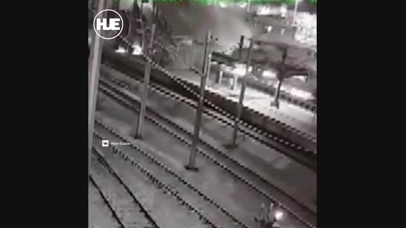 В Анкаре столкнулись два поезда