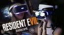 Девчонки не игравшие в игры, играют в Resident Evil 7 в VR, жестокий эксперимент!