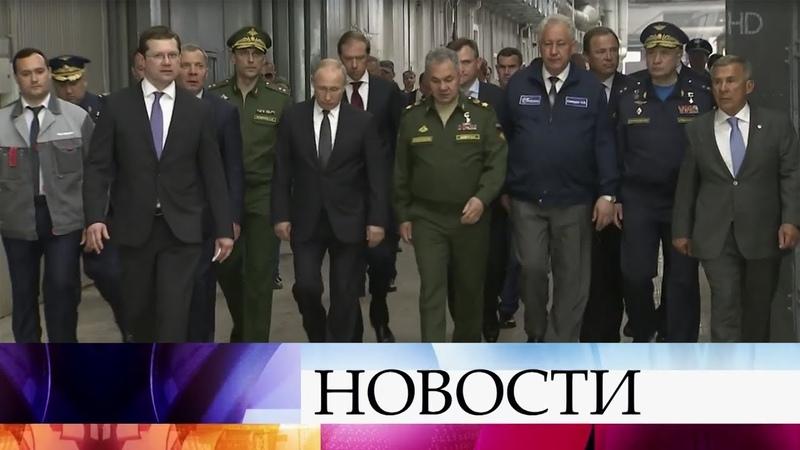 В Казани в центре внимания будущее ракетоносцев Ту-160, которым нет равных в мире.