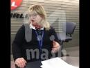 Сотрудница Аэрофлота посоветовала похудеть пассажирке которой не хватило питания на борту