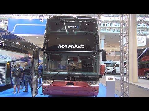 Van Hool TDX27 Astromega Double-Decker Bus Exterior and Interior