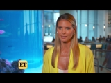 Heidi Klum Reveals Her Simple Diet Secret (Exclusive)