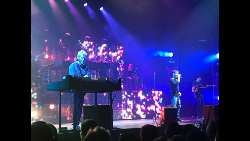 A-ha - Scoundrel Days (electric summer) Freiburg, 22.07.18
