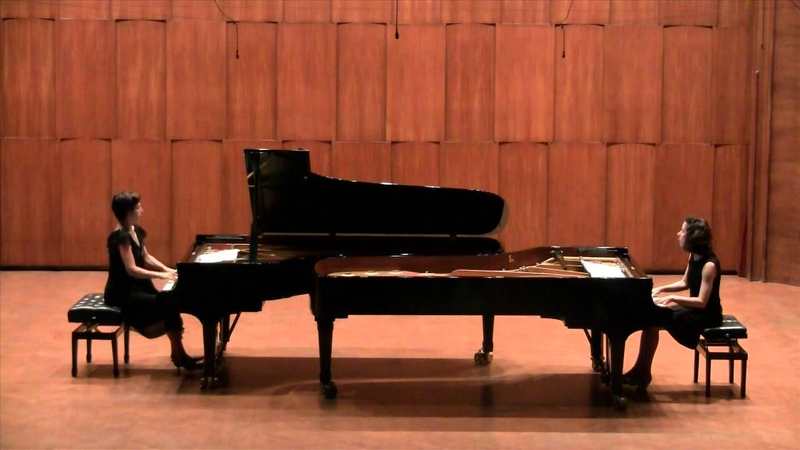 R. Schumann: Six Studies in Form of Canon, Op. 56, No. 1, 4, 3 (arranged by Debussy for two pianos)
